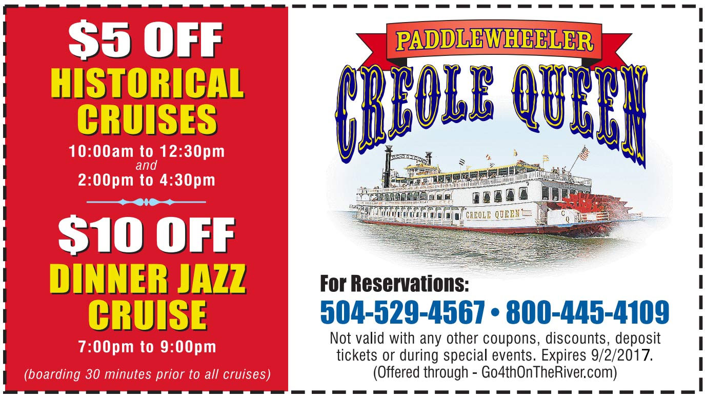 Creole Queen Coupon